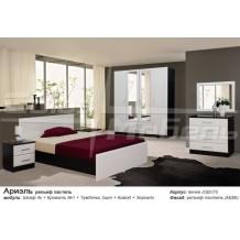 Спальня Ариэль (рельеф пастель)