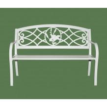 Скамейка металлическая Lily bench sdst05b