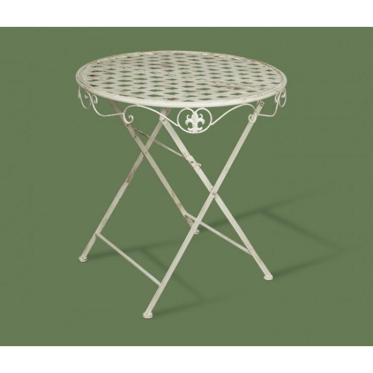 Садовая мебель - столы, столики - стол круглый складной плет.