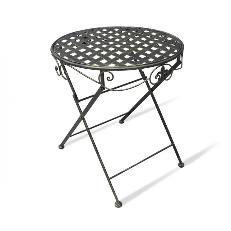Купить стол круглый складной плетенка sw100650b недорого.