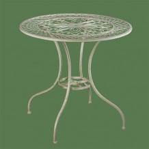 Стол круглый Лотос на четырех изогнутых ножках sw120096b