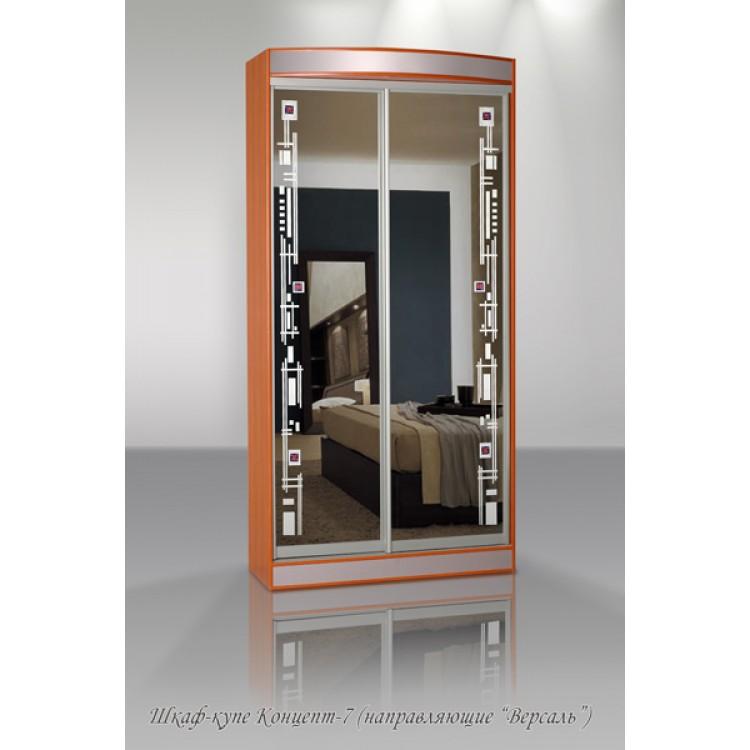 "Шкаф-купе концепт 7 в интернет-портале ""алеана-мебель"" интер."